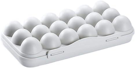 Stapelbare Kunststoff Eierbox für 12 Eier