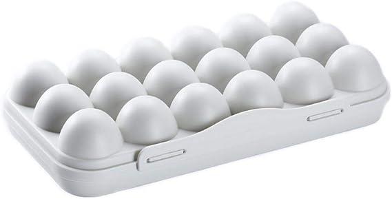 2 St/ück,zuf/ällige Farbe BESTONZON 30 Eierablagen Halter Kunststoff Eierboxen Eierablage Ei Halter Container Eierablage