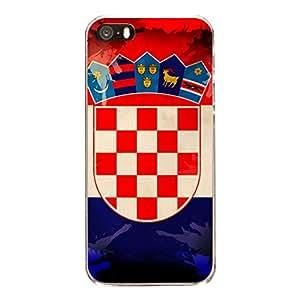 """Disagu Design Protective Case para Apple iPhone SE Funda Cover """"Kroatien"""""""