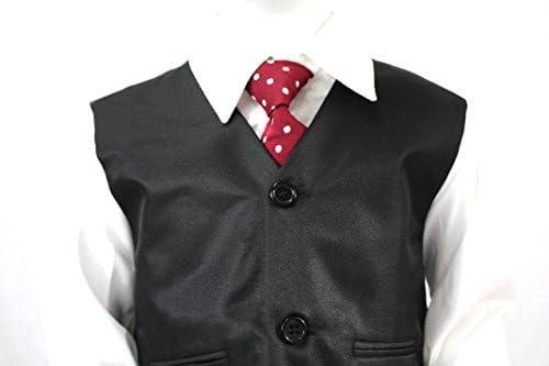 Aryan Wear - Traje de niño (5 piezas), color negro negro 12 meses ...
