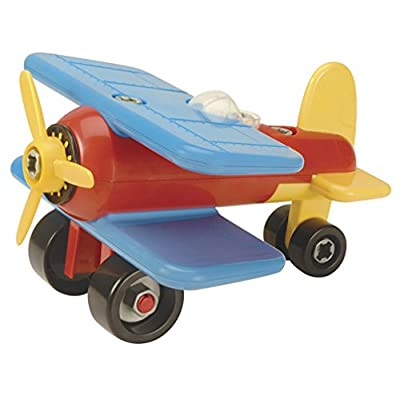 Battat Take-A-Part Vehicle Airplane (Old Model): Toys & Games