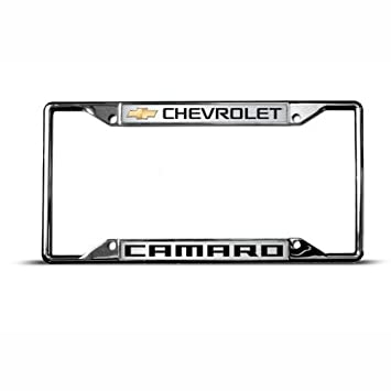 chevrolet camaro license plate frame