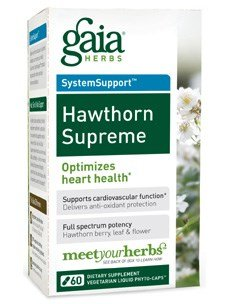 Gaia Herbs - Hawthorn Supreme 60 cap (Pack of 4) by Gaia Herbs - Hawthorn Supreme 60 cap (Pack of 4)