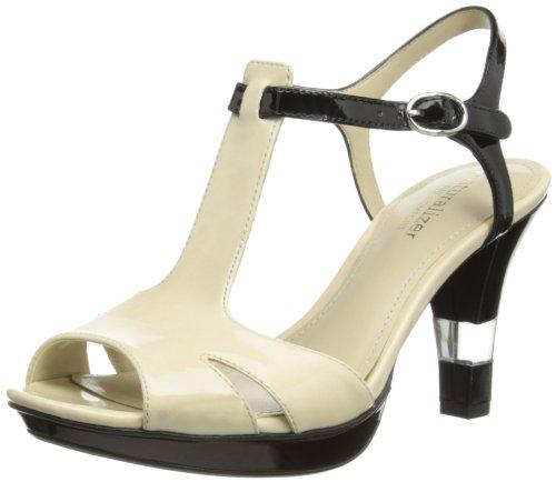 Lotus Montee - Peep toes Mujer Ivory Shiny