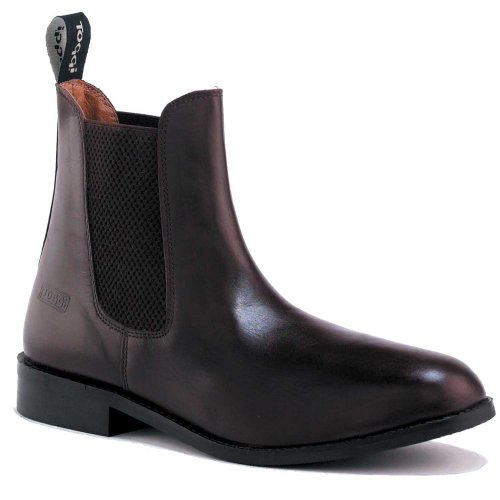 Toggi - Botas de equitación para hombre marrón