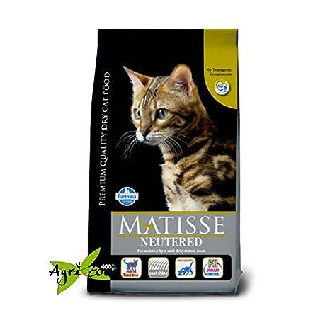 Farmina - Pienso para gatos esterilizados con pollo Matisse Neutered, 10 kg: Amazon.es: Hogar
