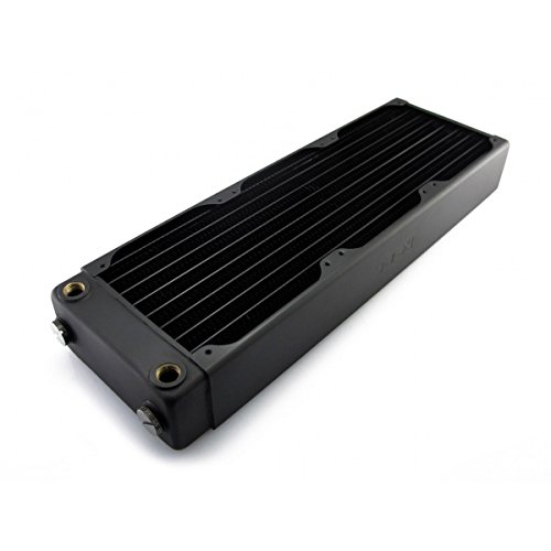 XSPC RX360 Radiator V3, 120mm x 3, Triple Fan, Black