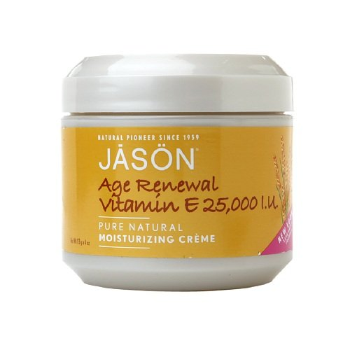 Jason Natural Cosmetics – Vitamin E Creme 25000 Iu, 25000 IU, 4 oz cream, Health Care Stuffs