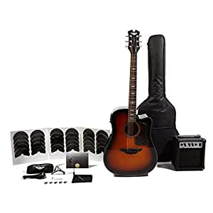 keith urban acoustic electric ripcord 40 piece guitar package copper musical. Black Bedroom Furniture Sets. Home Design Ideas