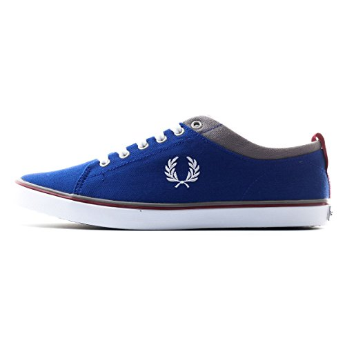 Fred Perry Adult Hallam Twill Royal White 13 Unisex