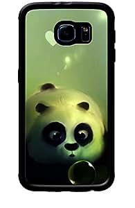 La Kase Collection–Carcasa para Samsung Galaxy S6, Negro Brillante, revestimiento de silicona para Albóndigas by apofiss Negro Única Talla