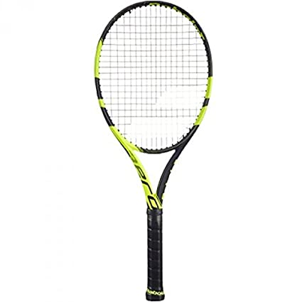 Amazon.com: Babolat 2016 con 6 cuerdas de Pure Aero raqueta ...