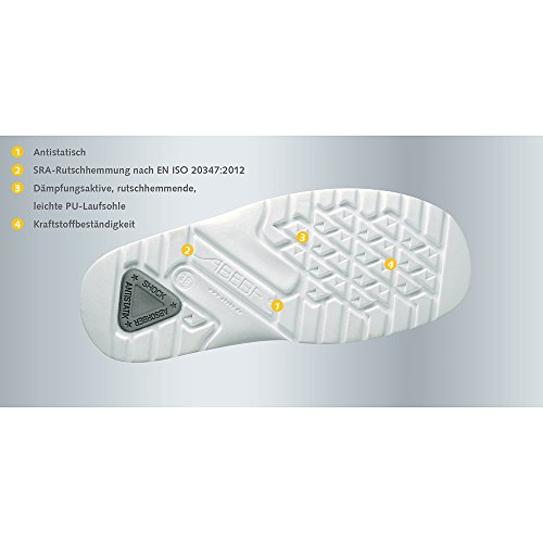 "Abeba – 1138 ""Light Ocupacional bajo zapatos blanco"