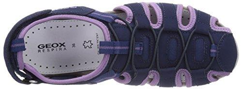 GEOX, JR SANDAL ROXANNE - Sandalias para niñas azul - Blau (NAVYC4002)