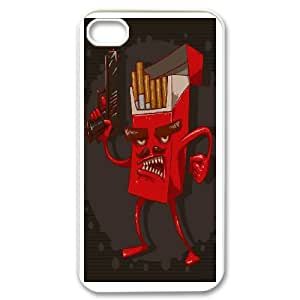 Cigarette Pattern Phone Case - Perfectly Match To iPhone 4,4S - By Coco Nuts Cases