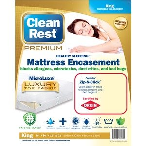 CleanRest 845168005401 Premium Water-Resistant, Allergy and