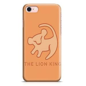 Loud Universe The Lion King Classic iPhone 7 Plus Case Premitive Logo Lion King iPhone 7 Plus Cover with 3d Wrap around Edges
