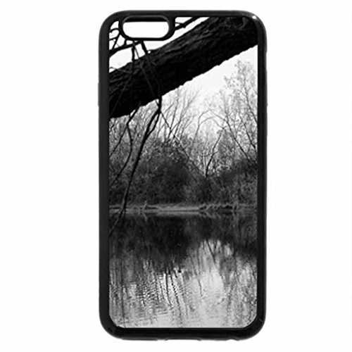 iPhone 6S Case, iPhone 6 Case (Black & White) - Autumn