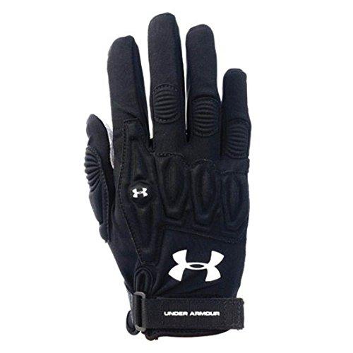 Women's Under Armour Illusion Lacrosse Field Glove Black Size Small