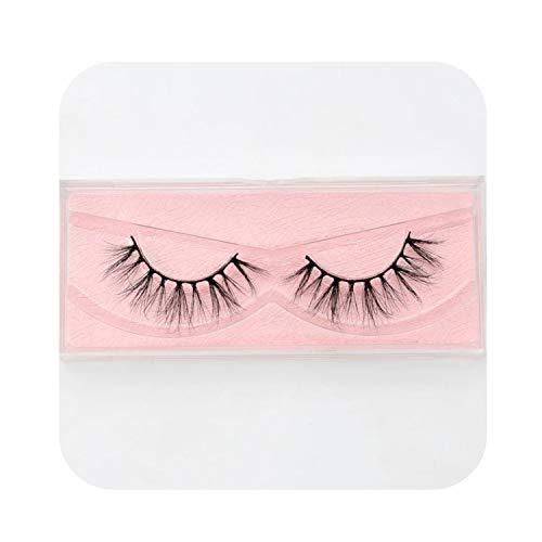 (Barry-Story Mink Eyelashes Crisscross Natural False Eyelashes Eyelash Extension Full Strip False Lashes Handmade Fake Eyelashes E11,E14)
