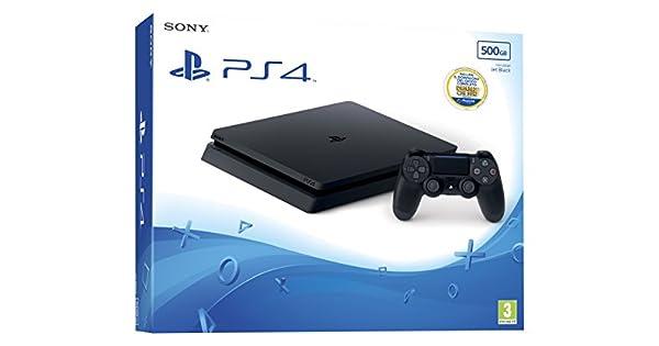 Sony PlayStation 4 Slim + Thats You! Negro 500 GB Wifi - Videoconsolas (PlayStation 4, Negro, 8192 MB, GDDR5, AMD Jaguar, AMD Radeon): Amazon.es: Videojuegos