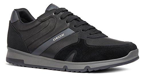 Geox U823xb Wilmer Scarpe Chiuse Uomo Black