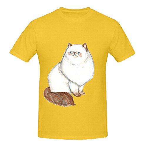 fluffy-kitty-men-o-neck-big-tall-t-shirts-yellow