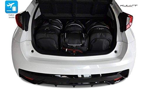 KJUST - TASCHEN AUF MASS HONDA CIVIC 5D, IX, 2012- CAR FIT BAGS