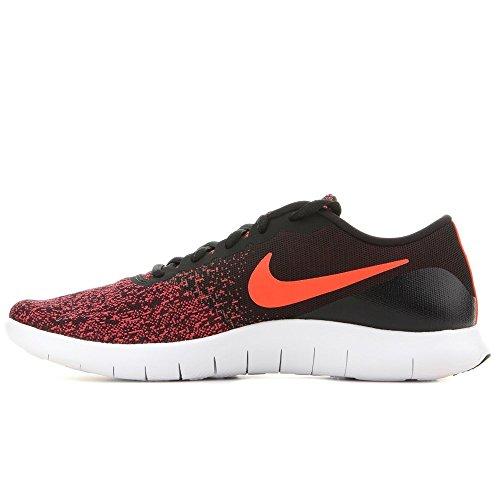 Nike Herren Flex Contact Lightweight Laufschuh Schwarz / Crimson-gym-rot Weiß