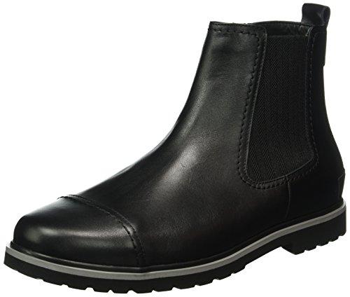 Ganter Giacomo W, Weite G, Zapatillas de Estar por Casa para Hombre Negro - Schwarz (schwarz 0100)