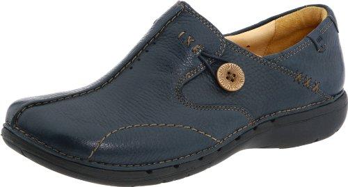 Clarks Unstructured  Women's Un.Loop Slip-On Shoe - Navy ...