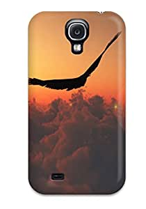 Cute High Quality Galaxy S4 Eagle Above The Clouds Case