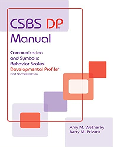 Csbs dp manual communication and symbolic behavior scales csbs dp manual communication and symbolic behavior scales developmental profile csbs dp first normed edition 1st edition fandeluxe Choice Image