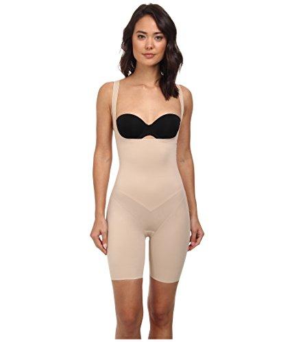 TC Fine Intimates Women's Torsette Long Leg Shapewear-Bottom 4241, Cupid Nude SM