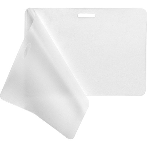 Business Source 20852 Laminating Pouches,Govt Card,5Mil,2-15/16x4-1/8,100/BX,CL by Business Source
