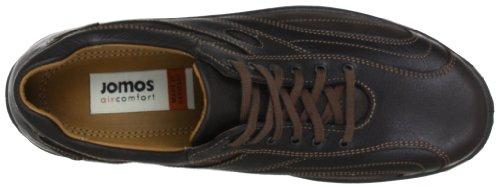 Jomos City Walker 308205-354-370 - Zapatos de cordones de cuero para hombre Marrón (Braun (santos 370))