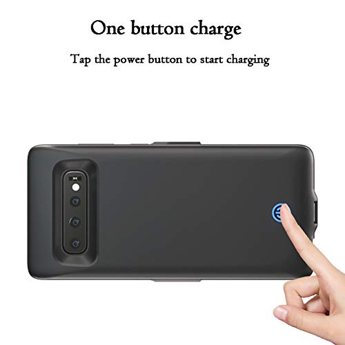 Green 7000mAh Portable Charger Rechargeable Portable Charging Protective Cover Battery Case for Galaxy S10 HONTECH Galaxy S10 Battery Case