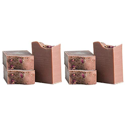 (Pacha Soap Company - Petal to the Metal 4 Oz. Natural Bar Soap - 6 Pack - Organic Body Soap)