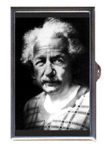 Albert Einstein Photograph (Albert Einstein Great Photograph Guitar Pick or Pill Box USA)