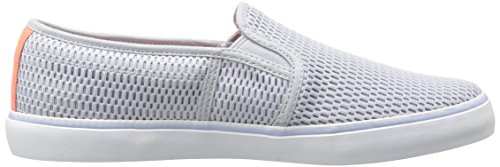 Lacoste Women's Gazon 217 1 Shoe, Grey, 6 M US