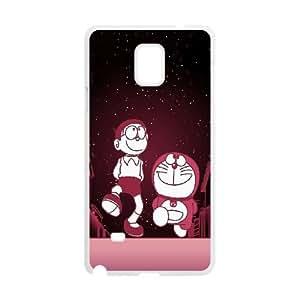 Doraemon Samsung Galaxy Note 4 Cell Phone Case White WK5278357