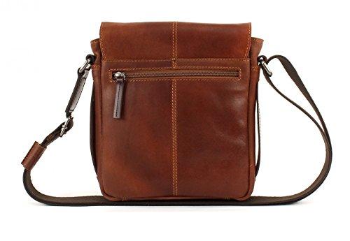 bugatti Grinta Messenger Bag Small Cognac