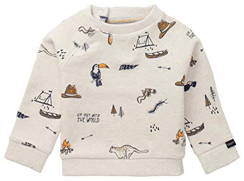 Noppies U Tee ls Puck Text uniseks-baby t-shirt
