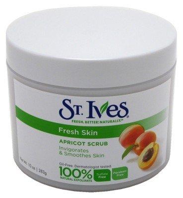 (St Ives Scrub Apricot Fresh Skin Invigorating 10 Ounce Jar (295ml) (6 Pack))