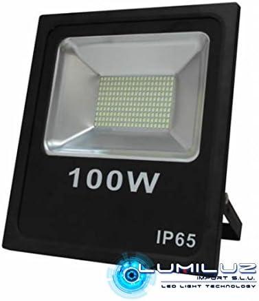 Proyector Led Exterior 100W luz blanca 6000K alta poténcia, 11000 ...