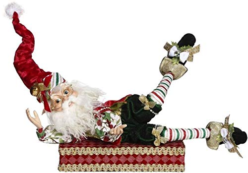 Mark Roberts North Pole Candy Cane Elf Stocking Holder #51-85468 ()
