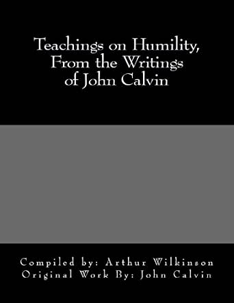 Writings of john calvin