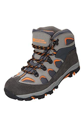 Running Shoes Kids Childrens Walking Oscar Warehouse – Charcoal Boots Mountain PwF0Sqq