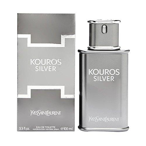 Kouros Silver By Yves Saint Laurent 3.3 oz Eau De Toilette Spray for Men