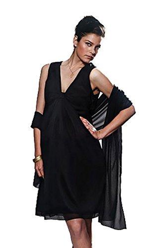 Mujer black Para Bellybutton Schwarz Vestido EqS7Twx0